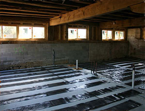 Radiant Heat Solutions Driveway Heating Snow Melting